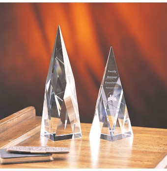 "CAP08 - 8"" Apex Crystal Award"