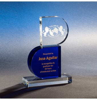 "CRFN609 - 9"" Reformation Crystal Award"
