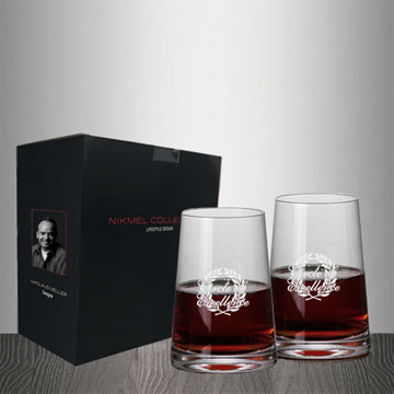 NM1003-2 - Metropolitan Stemless Red Wine - Set of 2
