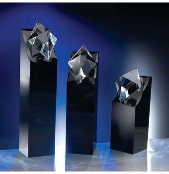 "SDR207 - 7"" Diamond in the Rough Crystal Award"