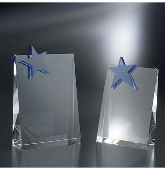 "SWF57 - 7"" Walk of Fame Crystal Star Award"