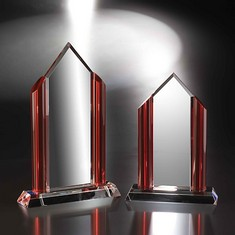 "11"" Fashion District Crystal Award"