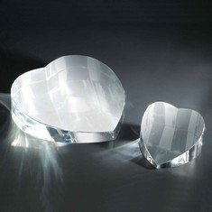 Big Heart Crystal Paperweight