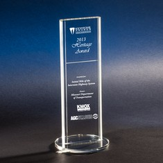 "11"" Replay Crystal Award"