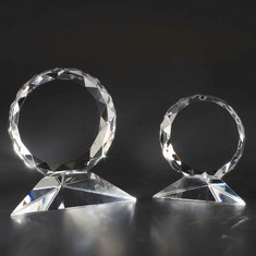 "3 3/4"" Sunburst Crystal Award"