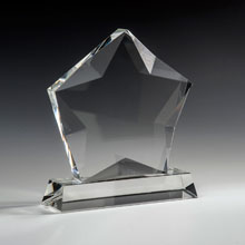 "7"" Stellar Crystal Star Award"