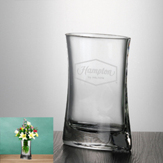 "7 3/4"" Crystal Passion Vase"