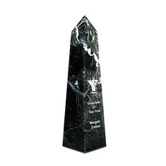 "12"" Obelisk Award - Black Zebra"