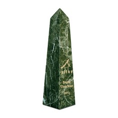 "10"" Obelisk Award - Jade Green"