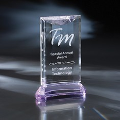 "8"" St. Germain Crystal Award"